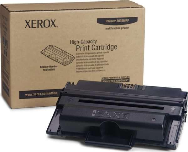 Xerox Toner Black HC 108R00795