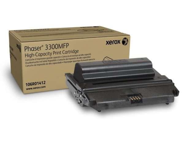 Xerox Black Print Cartridge HC 106R01412
