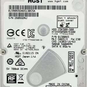 Hitachi Travelstar 500GB SATA6 2,5""