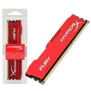 Kingston DDR3 HyperX Fury Red 4GB 1600MHz