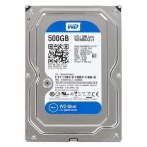 Western Digital Blue 500GB SATA3 3,5""