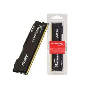Kingston DDR4 HyperX Fury Black 4GB 2400MHz