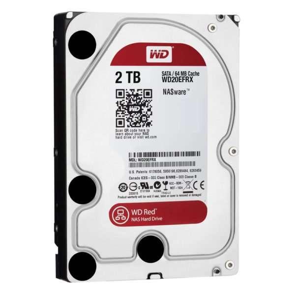 """Western Digital Red 2TB 3.5"""" SATA3 WD20EFRX"""