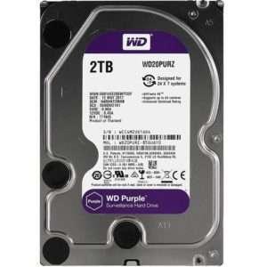 """Western Digital Purple 2TB 3.5"""" SATA3 WD20PURZ"""