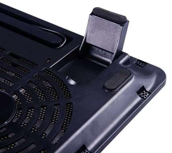 "POWERTECH Cooling Pad PT-738 έως 15.6"", 2x 125mm Fan LED"