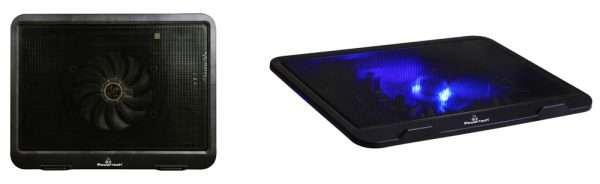 "POWERTECH Cooling Pad PT-740 έως 15.6"", 125mm Fan LED"