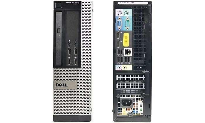 DELL OPTIPLEX 7010 SFF i5-3570 3,4Ghz/4GB/250GB/Win10 REFURBISHED